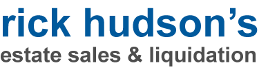 Rick Hudson Estate Sales and Liquidation Retina Logo